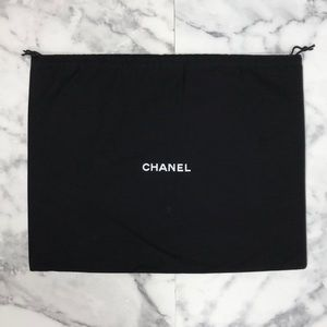 Authentic Chanel Purse Storage Drawstring Dust Bag
